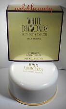 White Diamonds Body Radince Perfumed Powder By Elizabeth Taylor 2.6oz/75g Nib