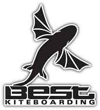 "Best Kiteboarding Kite Kiteboard Surfing Car Bumper Window Sticker Decal 4.1""X5"""