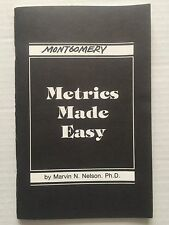 Metrics Made Easy by Marvin N. Nelson Self Teaching Resource Guide Book
