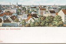 15934 AK Gruß aus Sommerfeld NL Lubsko um 1900 Häuser