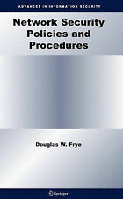 Network Security Policies and Procedures (Advanc, Douglas W. Frye, New