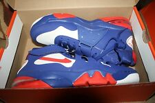 MEN'S NIKE AIR FORCE MAX CB 2 HYPERFUSE BARKLEY BLUE RED WHITE 616761-400 SIZE 9