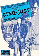 Cas de conscience pour Cinq - Just // Bibliothèque Verte Sénior // 1 ère Edition