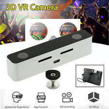 Mini VR 3D HD Camera Dual Lens Camcorder For Android Phone 100 degree 2560 x 720
