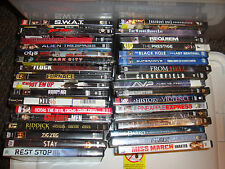 LOT 34 DVD movies Reservior Dogs Troy Cloverfield Riddick Darko Sin Dark City