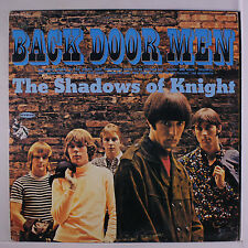 SHADOWS OF KNIGHT: Back Door Men LP (Euro, reissue red/yellow 1841 Broadway add