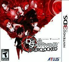 Shin Megami Tensei: Devil Survivor Overclocked (Nintendo 3DS) BRAND NEW