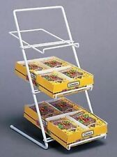 AYS Retail Slant Back Counter Candy, Gum and Snack Product Display Rack (White)
