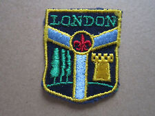 London Canada (2) Woven Cloth Patch Badge Boy Scouts Scouting