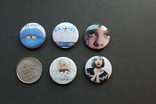 Cry baby NEW 1 inch set of 5 pins / buttons / badges - Melanie Martinez