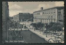 Bari : Corso Vittorio Emanuele -  cartolina scritta ma non viaggiata - anni '40'