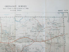 1949 OS Ordnance Survey 1:25000 1st Series Map SU 39 Stanford in the Vale 41/39