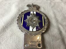 RARE ROYAL ARMY SERVICE CORPS VINTAGE CAR BADGE ENAMEL BADGE J.R. GAUNT LONDON