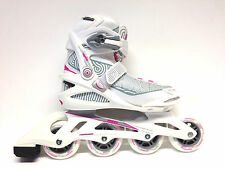 Roces Optic white pink Fitness Inline Skates Gr. 36 -Sale- Inlineskate Damen