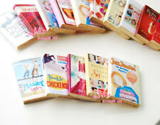 LOT OF 5PCS 1:12 Dollhouse Miniature colorful books