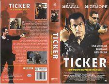 Ticker, esplosione finale (2001) VHS