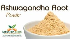 Organic Ashwagandha Root Powder Indian Superfood Supplement 25g FREE UK Delivery