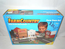 Farm & Country Farm Town Set  By Ertl  1/64th Scale