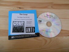 CD Indie The Coup - The Magic Clap (1 Song) Promo ANTI- REC