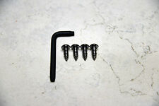 Anti-Theft *BLACK* Security Screws for FORD MUSTANG REAR License Plate