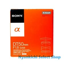 Sony DT 50mm F1.8 SAM SAL50F18 Lens NEW from Japan