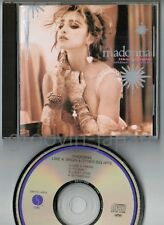"MADONNA Like A Virgin&Other Big Hits JAPAN 4-track 5"" CD 28XD-455 w/PS BOOKLET"