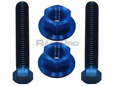 RacePro - Blue Titanium Axle Chain Adjuster Bolts - Suzuki Gsxr750 K6-K7 06-07
