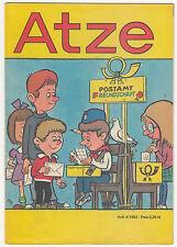 DDR Zeitschrift Zeitung Atze Heft 4 1982