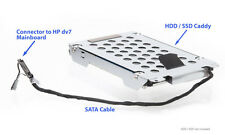 2te disco duro 2nd HDD caddy & cable para HP Pavilion dv7, dv7t - 7000 y -7100