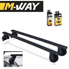 M-WAY Aero Fit Roof Rack Space Bars Rails for NISSAN Qashqai (J11) 5 Door 14