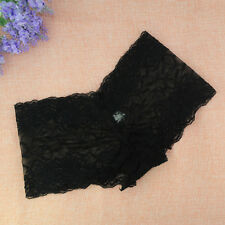 Sexy Women Sheer Lace Lingerie Underwear Panties Briefs Plus Size Kincker Shorts