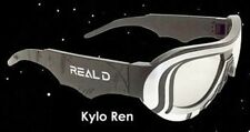STAR WARS VII The Force Awakens Kylo Ren Limited Edition REAL D 3D Glasses 3-D