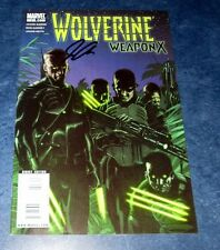 WOLVERINE WEAPON X #3 signed variant JASON AARON 1st print MARVEL COMIC 2009 COA