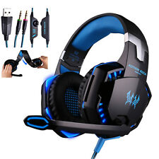 3.5mm Stereo HiFi Music Gaming Headset Headband Headphone With Microphone for PC