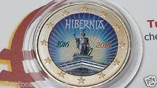 2 euro 2016 IRLANDA Hibernia colorato farbe color EIRE Irlande Ireland Irland