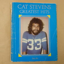 Songbook CAT STEVENS GREATEST HITS, 1974