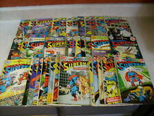 SUPERMAN 38 issues....1970's, SHAZAM, BATGIRL, LEX LUTHOR, 2-100 PAGERS, KRYPTO!