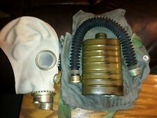 New Gas Mask With Filter & Bag