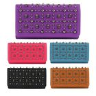 New Trend Women's Wallet Trifold Clutch Skull Long Purse Handbag Tote Card Bag