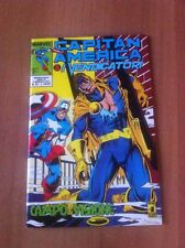 CAPITAN AMERICA & I VENDICATORI nr 36 STAR COMICS 1992 MARVEL ALPHA FLIGHT