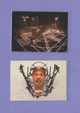 Two  X Files trading cards Pub. Topps 1996 Steve Railsback Aliens Creepy