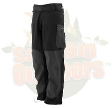 M MD Frogg Toggs Pilot Guide Rain Pants Black & Charcoal Gray  #PF83160-177MD
