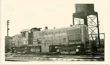 R336 RP 1959 LI RR LONG ISLAND RAILROAD ENGINE #465 MORRIS PARK NY