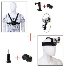 Chest Harness Head Belt Strap Mount for Sony Action Cam HDR-AS15/20/AS30V/AS100V