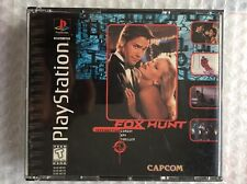 ☆ Fox Hunt (Sony PlayStation 1 1996) RARE PS1 Game Discs & Case - Works ☆