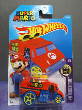 HOT WHEELS SUPER MARIO COOL-ONE. HW Screen Time. 4/5 New 2016. Long card. Rare.