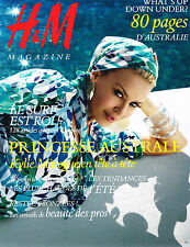 French H&M Magazine Summer 2007 Australia KYLIE MINOGUE Cameron Russell @NEW@