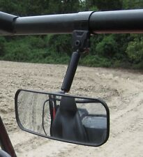 Seizmik Wide Angle Adjustable Rear View Mirror Can Am Commander