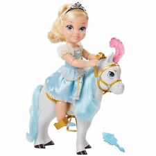 Disney Princess Cinderella Toddler Doll & Carriage Horse -NIB