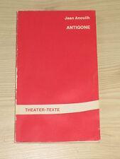 Jean Anouilh - Antigone - Theater Texte Bd. 3